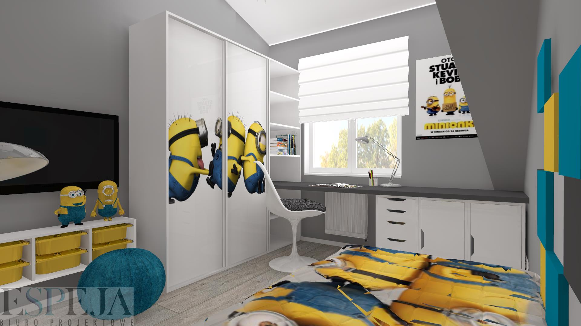 pok j dla dziecka. Black Bedroom Furniture Sets. Home Design Ideas